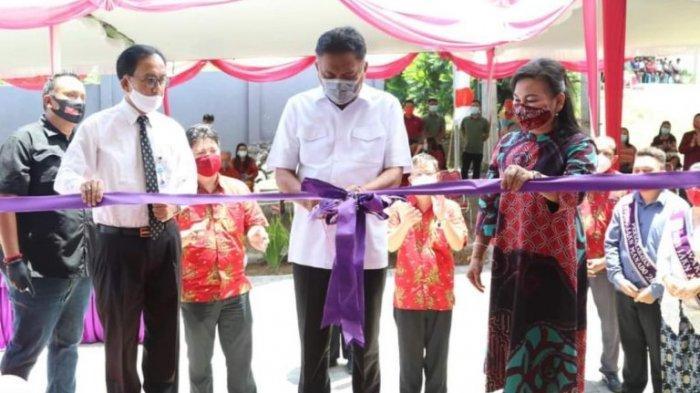 Gubernur Olly Dondokambey Resmikan Gedung Pascasarjana IAKN Manado