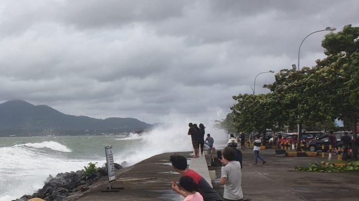 BMKG Sampaikan Warning,Perairan Sulut Berpotensi Terdampak Siklon Tropis