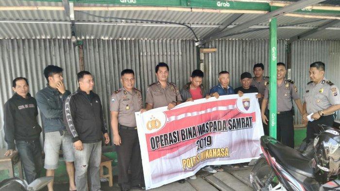 Operasi Bina Waspada Samrat 2019, Polisi Sambangi Kantor Kelurahan