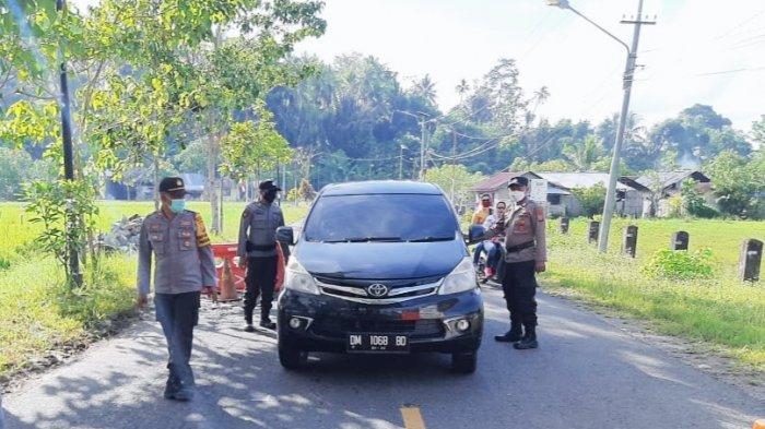 Antisipasi Aksi Terorisme Masuk di Sulut, Polres Bolmut Perketat Wilayah Perbatasan Bolmut-Gorontalo