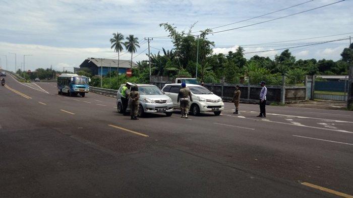 BREAKING NEWS, Polres Minut Gelar Operasi di Hari Pengucapan, Puluhan Kendaraan Disuruh Balik