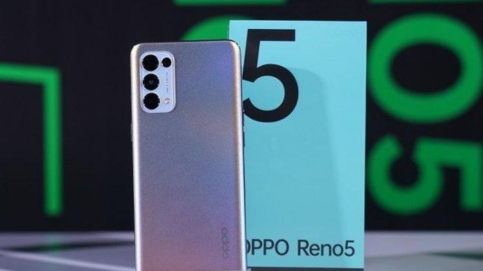 Oppo Reno5 F Dilengkapi RAM 8 GB Dijual dengan Harga Rp 4 Jutaan, Ini Spesifikasi Lengkapnya