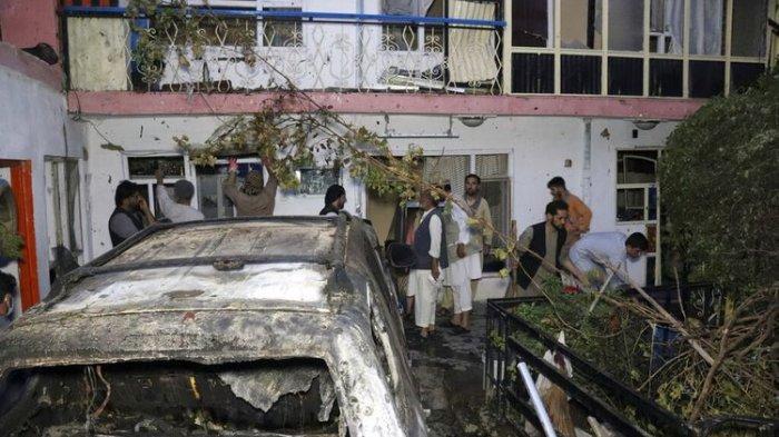 Serangan Drone Amerika Tewaskan 10 Warga di Kabul Afghanistan, Ada Relawan AS