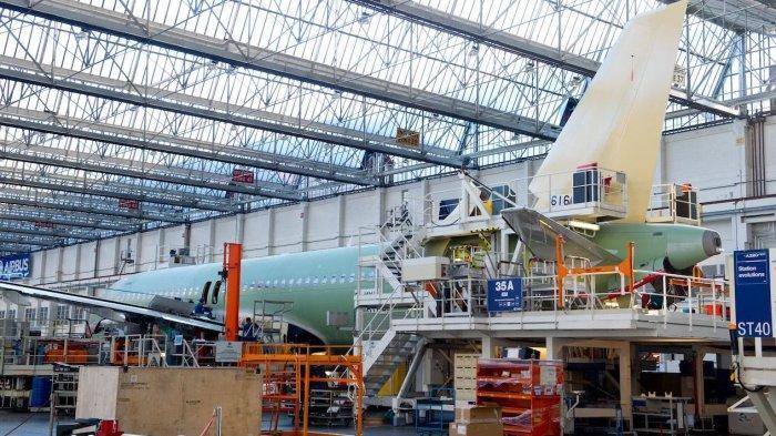 Pembatasan Perjalanan Udara, Produsen Pesawat Airbus Rugi Rp 18 Triliun