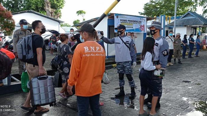 Komandan Pangkalan TNI Angkatan Laut Melonguane Kerahkan Kekuatan di Tiga Pelabutan Utama Talaud
