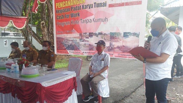 Program Padat Karya Sasar 47 Kelurahan di Bitung, Tiap Kelurahan Rp 300 Juta