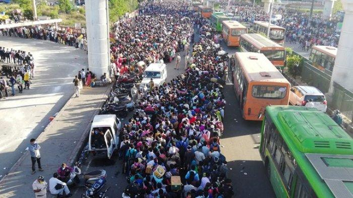 India Chaos usai 5 Hari Lockdown: Jutaan Orang Telantar tanpa Makan