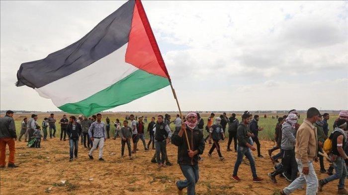 Palestina Tanpa Pasukan Tentara berperang dengan Israel.