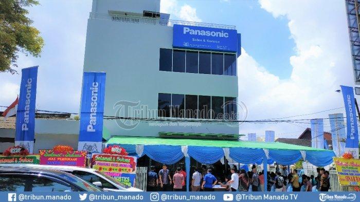 Panasonic Resmikan Kantor Cabang Baru di Manado, Dekatkan Pelayanan ke Konsumen di Kota Tinutuan