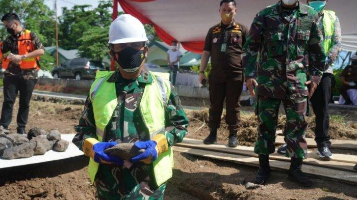 Rumah Susun Kodam XIII/Merdeka di Minahasa Mulai Dibangun, Pangdam: Tersedia untuk 44 KK
