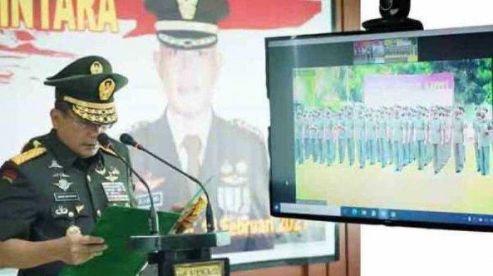 Pesan Pangdam Merdeka Mayjen TNI Santos G Matondang Kepada Para Lulusan Pendidikan Bintara Pertama