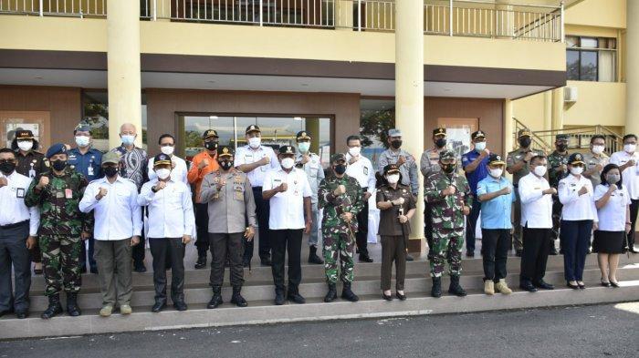 Hadiri Apel Gelar Pasukan Operasi Ketupat Samrat, Pangdam XIII/Merdeka Siap Beri Dukungan Pasukan