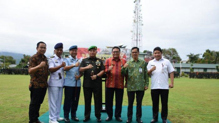 Hari Juang Kartika TNI AD, Pangdam XIII Merdeka Bacakan Sambutan Kasad