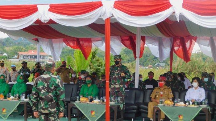 Kodam XIII Merdeka Komitmen Bersihkan Danau Tondano Minahasa