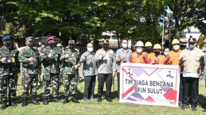 Pangdam XIII/Merdeka Siap DukungKesiapsiagaan Penanggulangan Bencana Pemprov Sulut