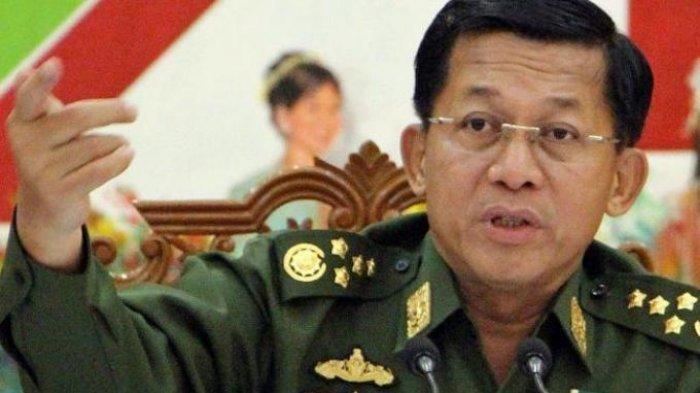 Panglima Angkatan Bersenjata Myanmar Min Aung Hlaing