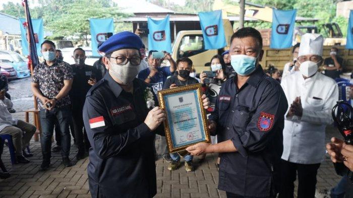 Mor Dominus Bastiaan (MOR) resmi dikukuhkan menjadi Panglima Tertinggi Brigade Santiago di Kairagi, Manado, Sabtu (14/11/2020).