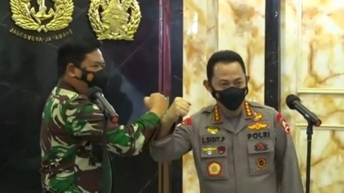 Panglima TNI Marsekal Hadi Tjahjanto dan Kapolri Jenderal (Pol) Listyo Sigit Prabowo dikabarkan kunjungi Papua untuk bahas KKB Papua. Temui Pangdam Cendrawasih dan Kapolda Papua.