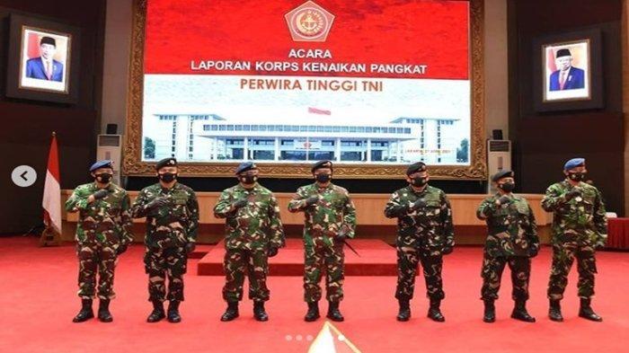 9 Anak Buah KSAD Jenderal Andika Perkasa Sandang Bintang 2, Siapa Saja? Ini Daftarnya