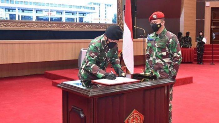 Kasum TNI hingga Aspers Diganti, Panglima TNI Marsekal Hadi Tjahjanto Pimpin Acara Sertijab