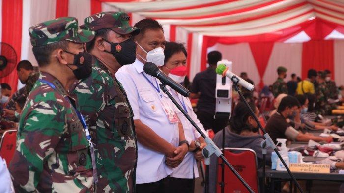 Gubernur Sulut Paparkan Tingkat Kesembuhan Covid-19 di Hadapan Panglima TNI