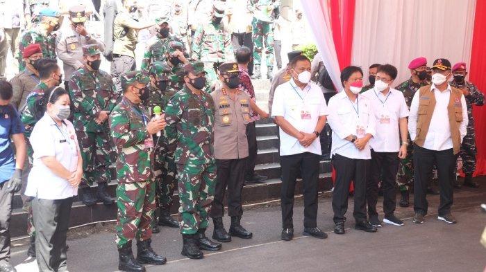 Pesan Panglima TNI Kepada Forkopimda di Sulawesi Utara