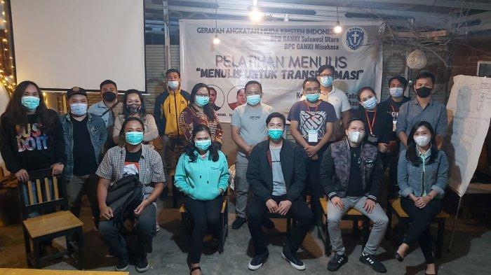 Pelatihan Jurnalistik GAMKI Sulut Sukses, Bersiap Buat Buku Sejarah GAMKI di Sulut