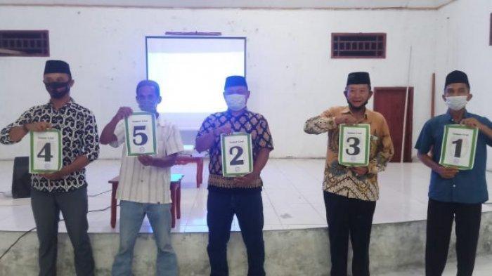 Lima Calon Sangadi Bertarung di Pemilihan Sangadi Desa Ilomata Bolsel