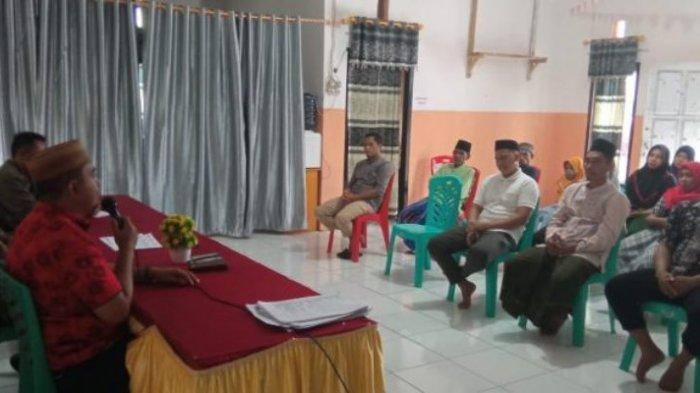 Daftar Pemilih Tetap di Desa Pakuku Jaya Ditetapkan, Abidin Minta Masyarakat Hargai Perbedaan