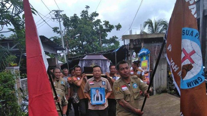 Panji Yosua Wilayah Manado Teling Bikin Gebrakan, Gelar Prosesi Penghormatan Jenasah