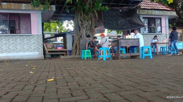 fasilitas Pantai Indah Melonguane