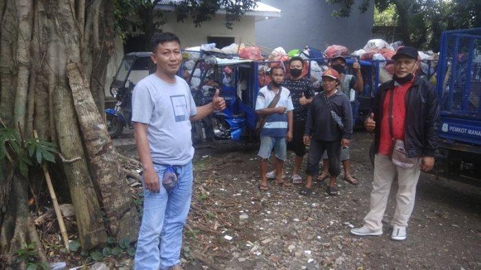 Tiga Hal Ini Penyebab Buruh Sampah Pekerjaannya Melambat di Kota Manado