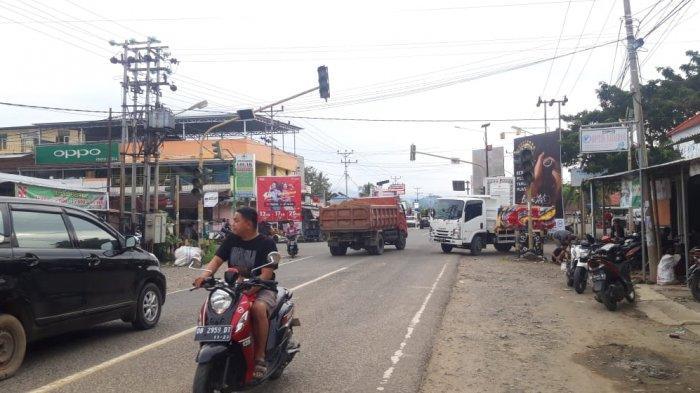 Traffic Light Perempatan Pasar Lolak Tak Berfungsi, Begini Penjelasan Dishub Bolmong