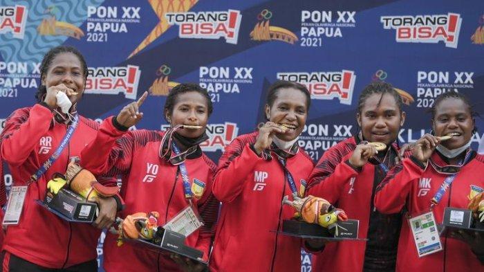 UPDATE Terkini Klasemen Medali PON XX Papua: Jabar Kokoh Dipuncak Usai Koleksi 107 Emas