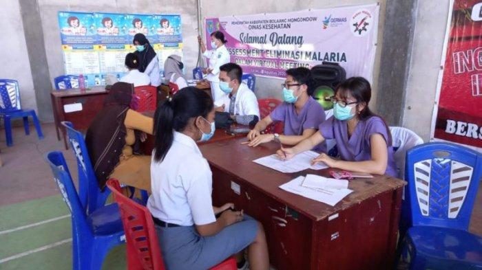 38 Anggota Paskibra Bolmong Terima Vaksin dari Dinkes