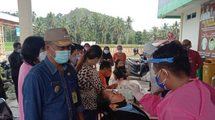 136 ASN dan Perangkat Desa di Passi Barat Bolmong yang Ikut Rapid Test Massal, Dinyatakan Negatif