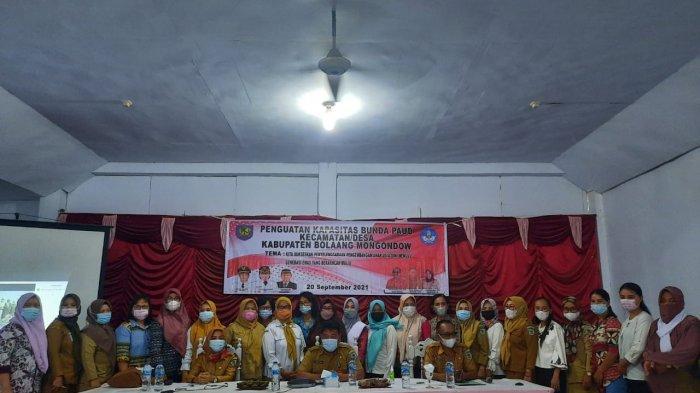 Dinas Pendidikan Bolmong Gelar Kegiatan Penguatan Bunda PAUD Tingkat Kecamatan dan Desa