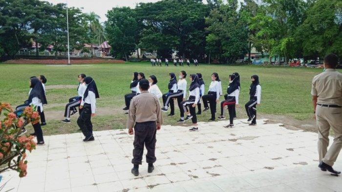 Calon Paskibraka Kotamobagu Mulai Latihan, Anas: Kami Konsisten Terapkan Prokes