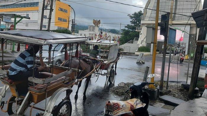 Bendi, Transportasi Tradisional yang Masih Eksis di Kota Bunga Tomohon
