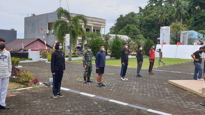 Upacara HUT RI Tahun 2021 di Kabupaten Sitaro Tanpa Paskibraka