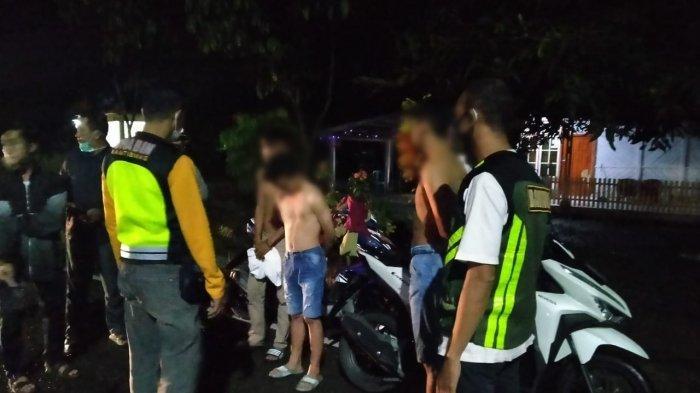 Polisi Tangkap 7 Remaja yang Terlibat Balap Liar di Kotamobagu