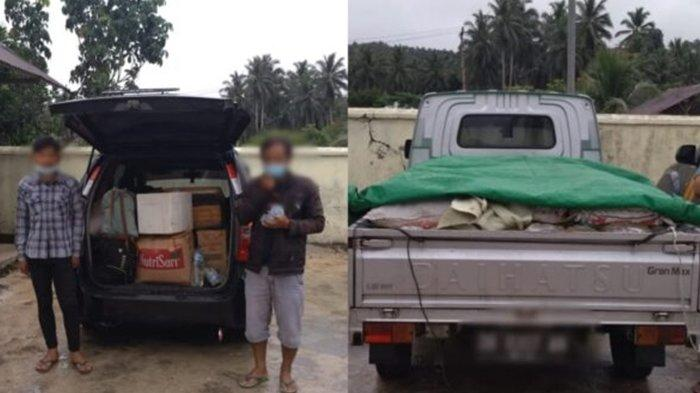 Lagi, Polres Bolmong Amankan 975 Liter Cap Tikus di Jembatan Kosio, Hendak Dibawa ke Bolsel