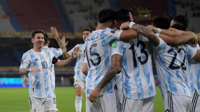 LIVE STREAMING Argentina vs Uruguay Copa America 2021, Messi Jumpa Suarez, Kick Off Pukul 07.00 WIB