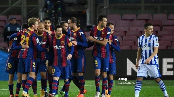 SEDANG BERLANGSUNG Live Streaming TV Online Athletic Bilbao vs Barcelona Liga Spanyol, Akses di Sini