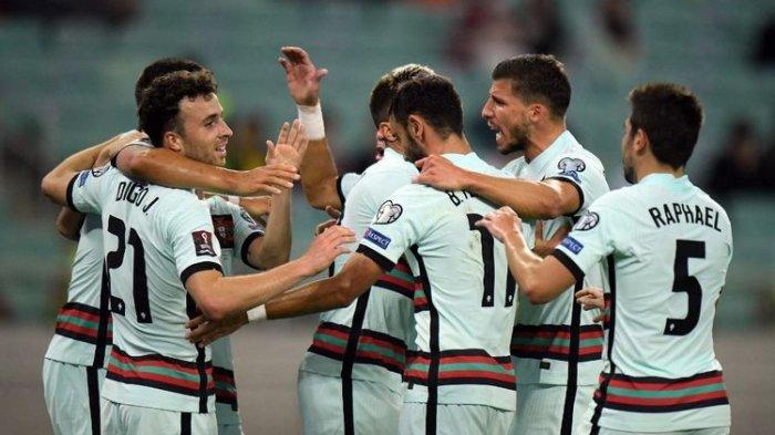 Hasil Azerbaijan vs Portugal, Menang Telak Meski Tanpa Ronaldo, Selecao Pimpin Puncak Klasemen