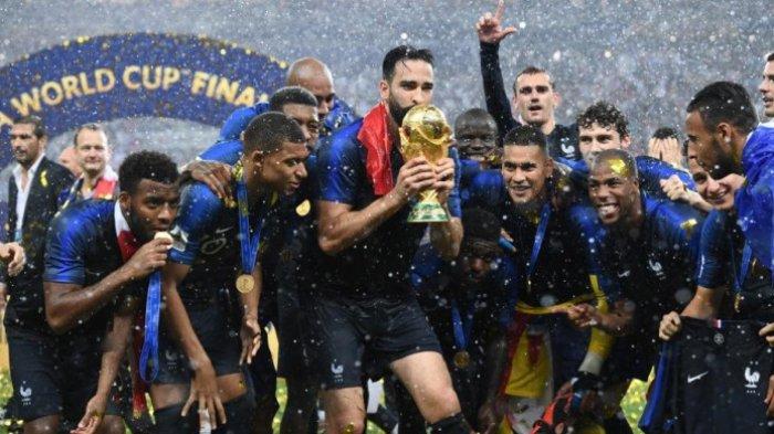 Prancis Sang Juara Sempurna Piala Dunia 2018, tetapi Tinggalkan Setitik Cela