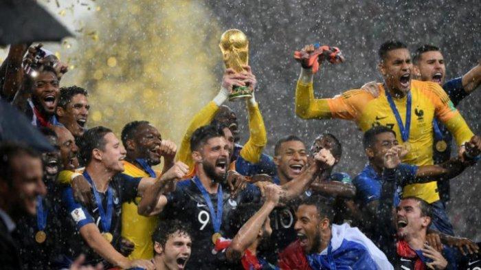 5 Hal yang Terlewatkan pada Final Piala Dunia 2018, Salah Satunya Pemberian yang Tak Terbalas