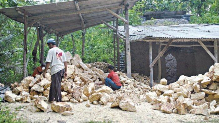 Batu Kapur Lobong Sudah Sumbang Rp 9 Miliar untuk PAD Bolmong Hingga Juli 2021