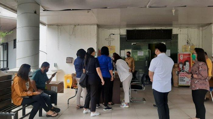 Masuk Mall Pelayanan Publik Tomohon Wajib Dirapid Tes