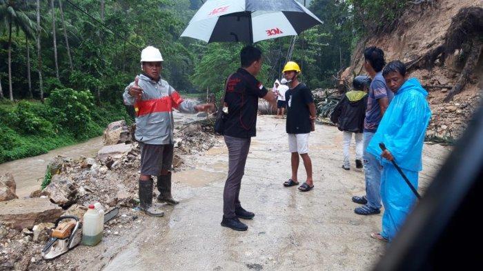 Material Longsor Berhasil Diangkut, Jalur Kotamabagu-Bolsel Sudah Bisa Dilewati